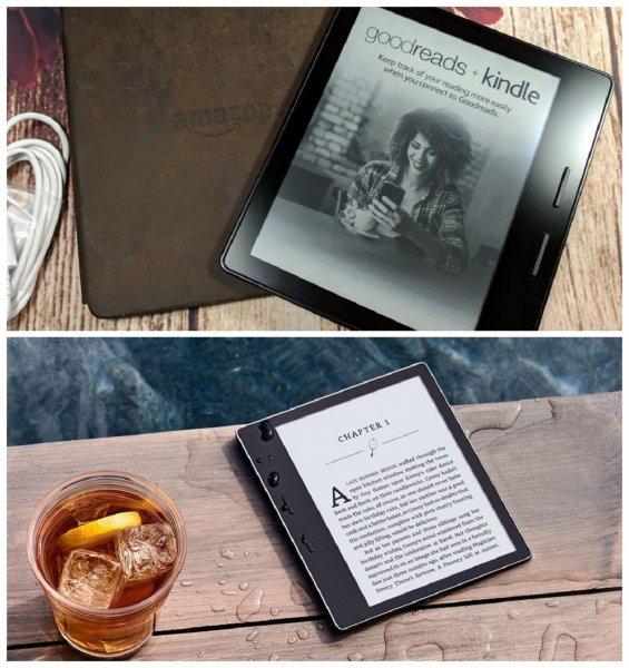 Идеальная для глаз: Читалка Amazon Kindle Oasis позволяет регулировать температуру экрана