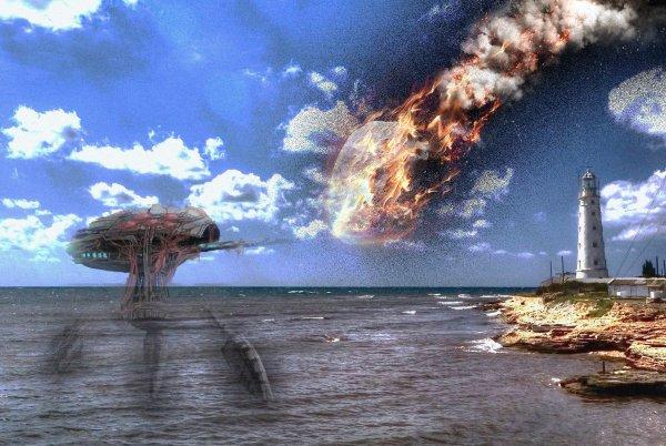 Нибиру захватила маяки вКрыму— Пришельцы дали сигнал кпадению метеорита