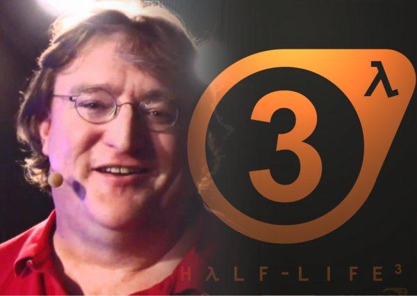 Гейб Ньюэлл шуткой намекнул на Half-Life 3