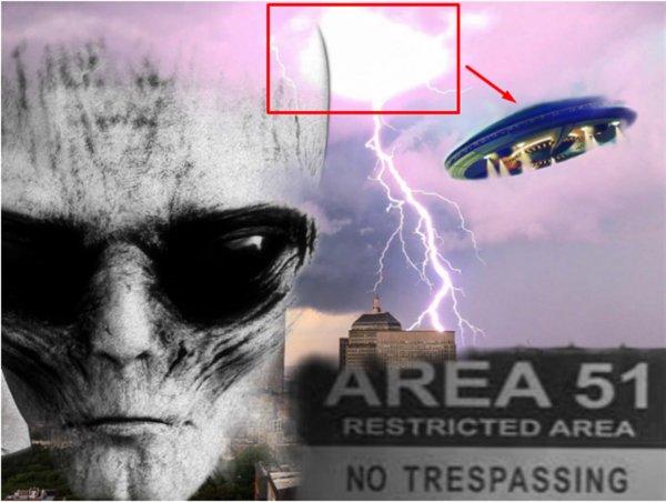 Мстят за зону 51: Пришельцы сбрасывают на Землю б/у НЛО