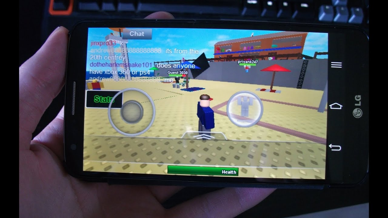 Невероятная игра  Roblox  на Андроид