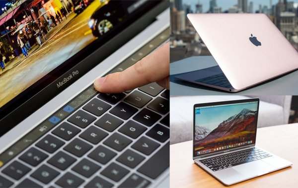 Touch Bar вместо MacBook 12: Apple обновила линейку ноутбуков