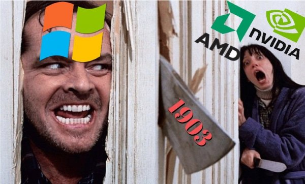 Microsoft «наплевала» на NVIDIA и AMD: Скандальное обновление Windows 10 «ломает» видеокарты