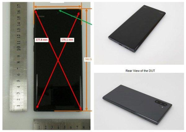 Без наушников и карт памяти: в Сеть «слили» характеристики Galaxy Note 10+