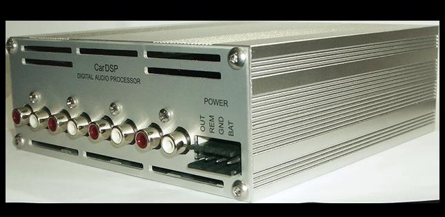 Автомобильные аудиопроцессоры CarDSP