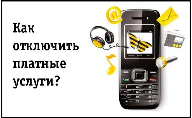 Вся информация об услугах мобильного оператора
