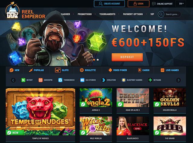 Онлайн казино ReelEmperor готовит увлекательные сюрпризы для своих посетителей
