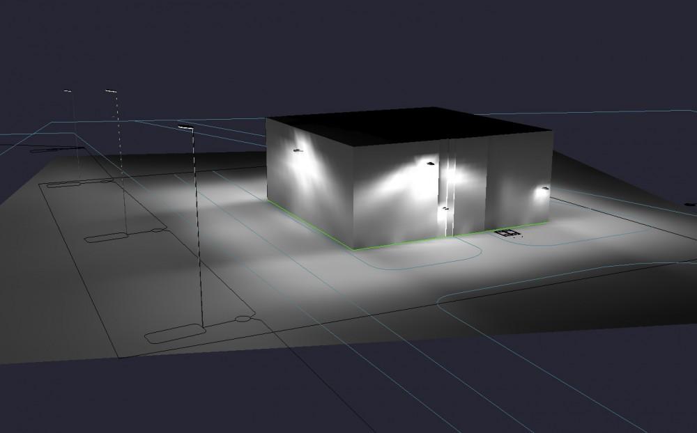 Качественное и бесперебойное освещение на трансформаторной подстанции
