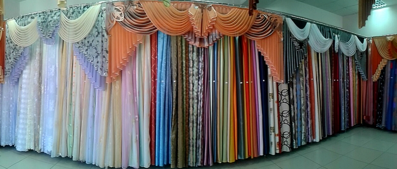Выбор тканей для штор