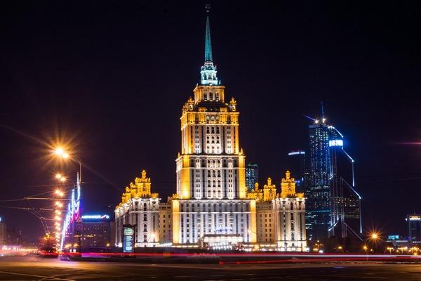 Организация вечерних экскурсий по Москве
