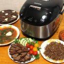 Приготовление блюд в мультиварке Redmond