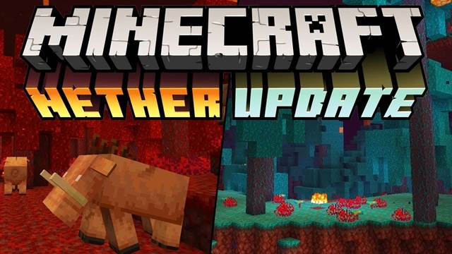 Скачать Minecraft PE 1.16.0 Nether Update