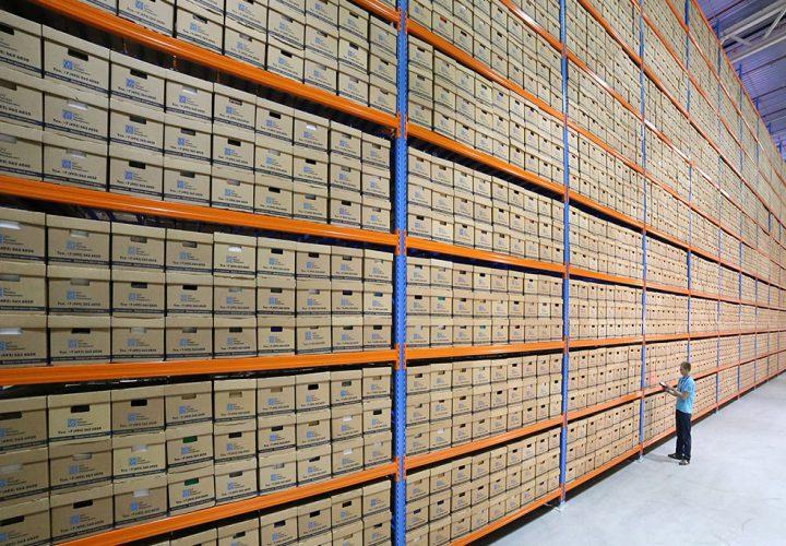 Архивное хранение и управление документацией