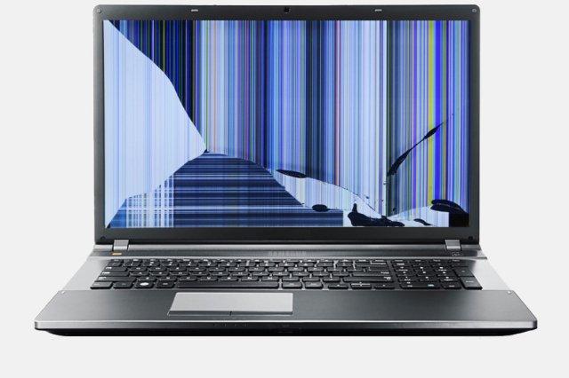 Поломка матрицы ноутбука: основные причины