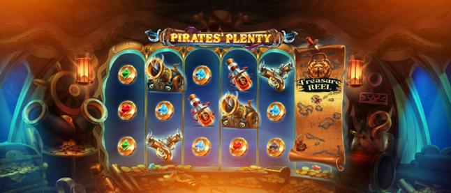 Pirates' Plenty – игровой автомат от Red Tiger Gaming, превращающий игроков в пиратов