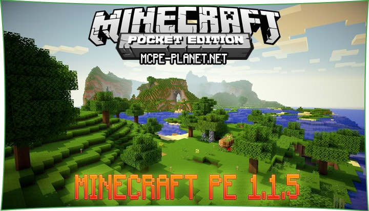 Minecraft PE 1.1.5 на русском языке