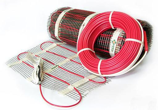 Нагревательный кабель для электрического теплого пола под плитку