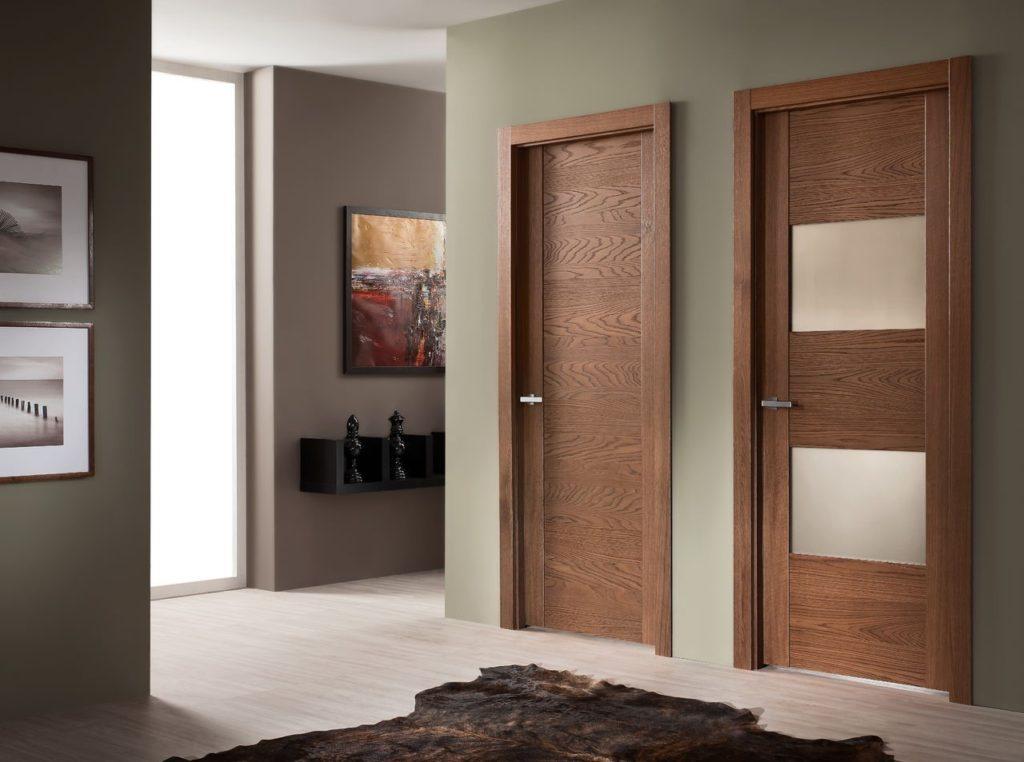 Заказать качественные шпонированные двери по доступным ценам