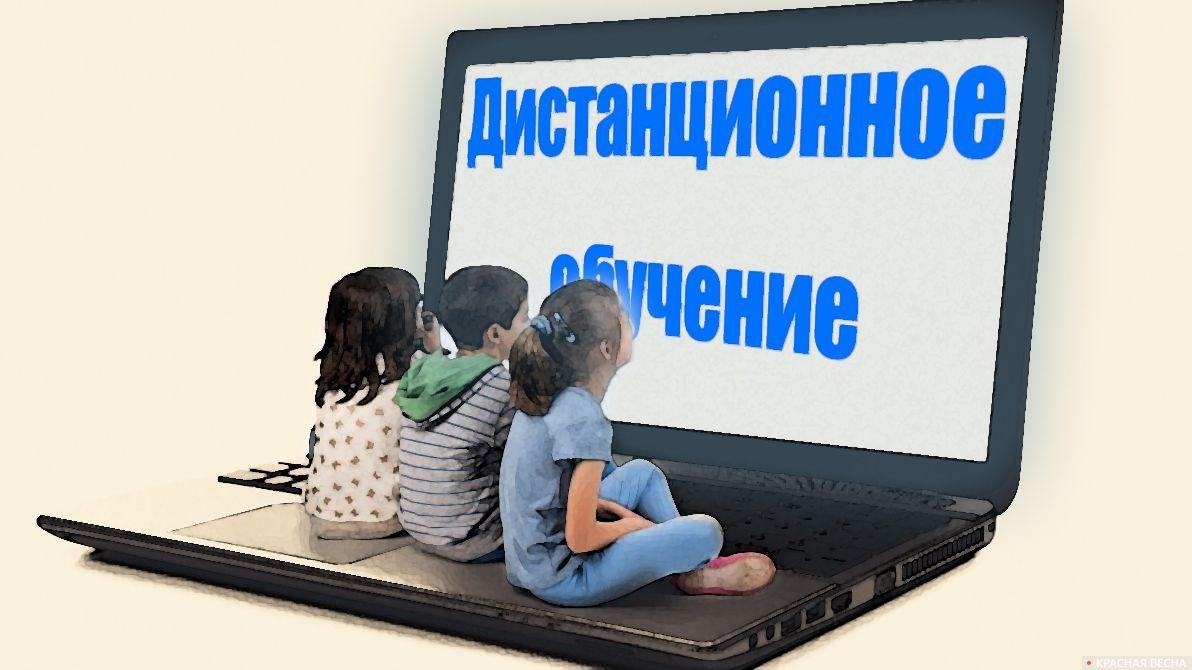 Дистанционное обучение для школьников