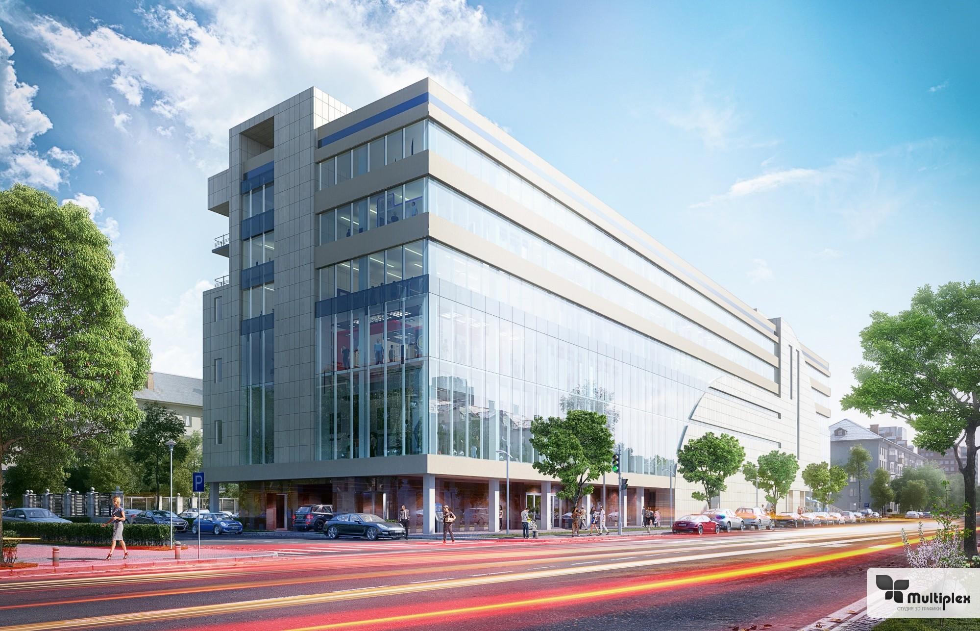 Создание 3D визуализации архитектурных проектов