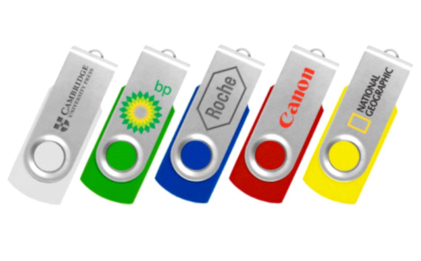 Флешки с логотипом компании