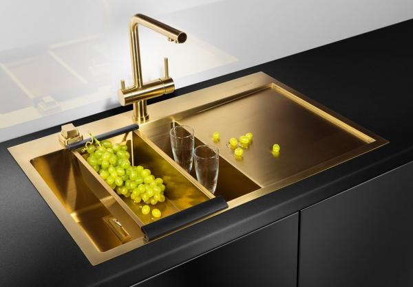Высококачественные и стильные кухонные мойки и смесители