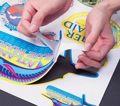 Печать стикерпаков в Москве