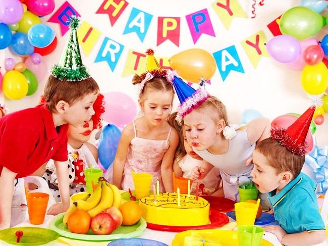 Организация дня рождения для детей — в действии аниматор