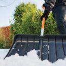 Секреты выбора лопаты для уборки снега