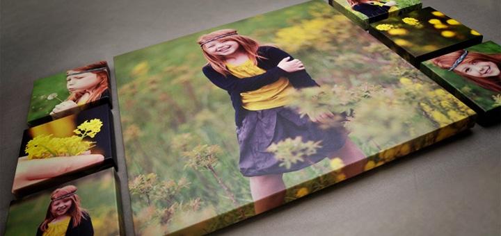 Печать фото на холсте от ArtDiscount