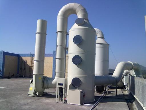 Скрубберы для очистки газов от примесей