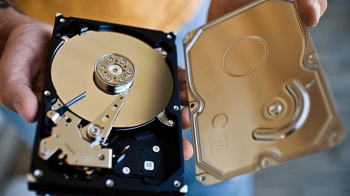Ремонт жестких дисков и восстановление данных