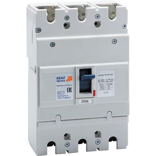 Выбор блочного электрического выключателя (автомата)