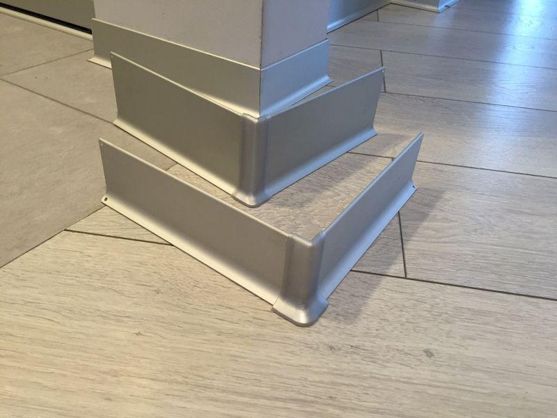 Алюминиевые плинтуса для вашего дома