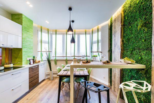Интерьер в экологическом стиле