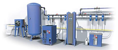 Оборудование для подготовки воздуха от итальянского производителя OMI